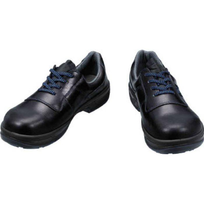 8511N23.5 安全靴 短靴 8511黒 23.5cm