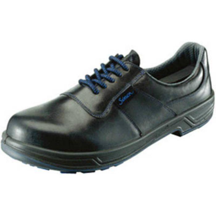 8511N24.0 安全靴 短靴 8511黒 24.0cm