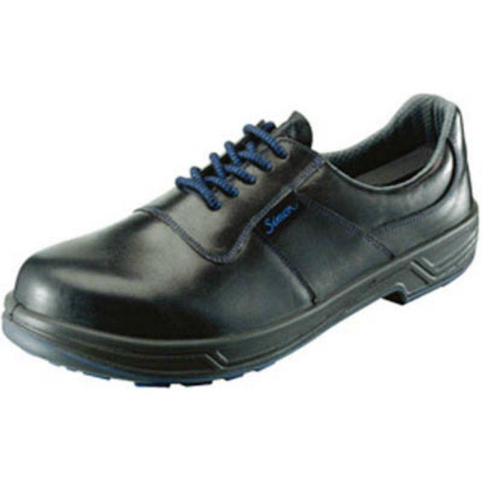 8511N25.0 安全靴 短靴 8511黒 25.0cm