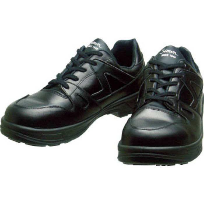 8611BK25.0 安全靴 短靴 8611黒 25.0cm