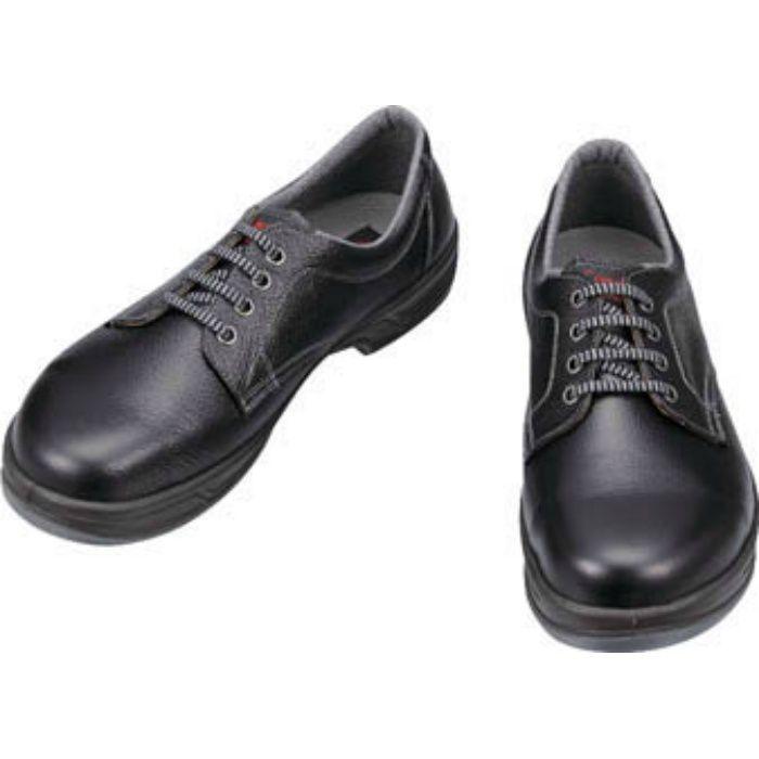 SS1124.5 安全靴 短靴 SS11黒 24.5cm