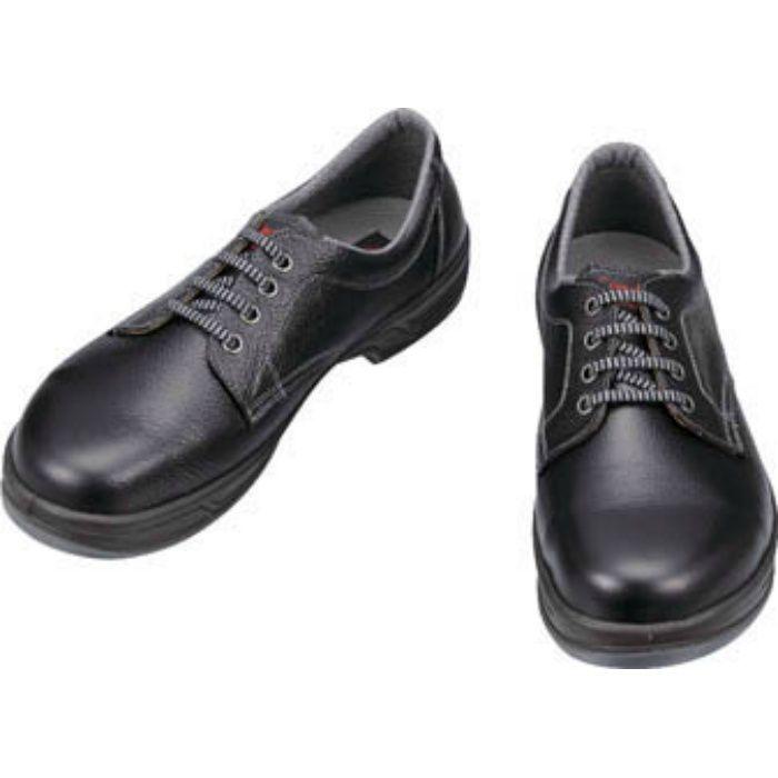 SS1125.0 安全靴 短靴 SS11黒 25.0cm
