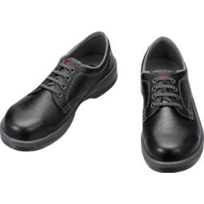 7511B23.5 安全靴 短靴 7511黒 23.5cm