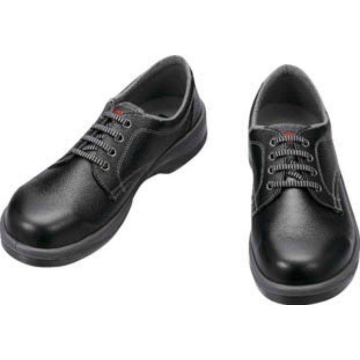 7511B25.0 安全靴 短靴 7511黒 25.0cm