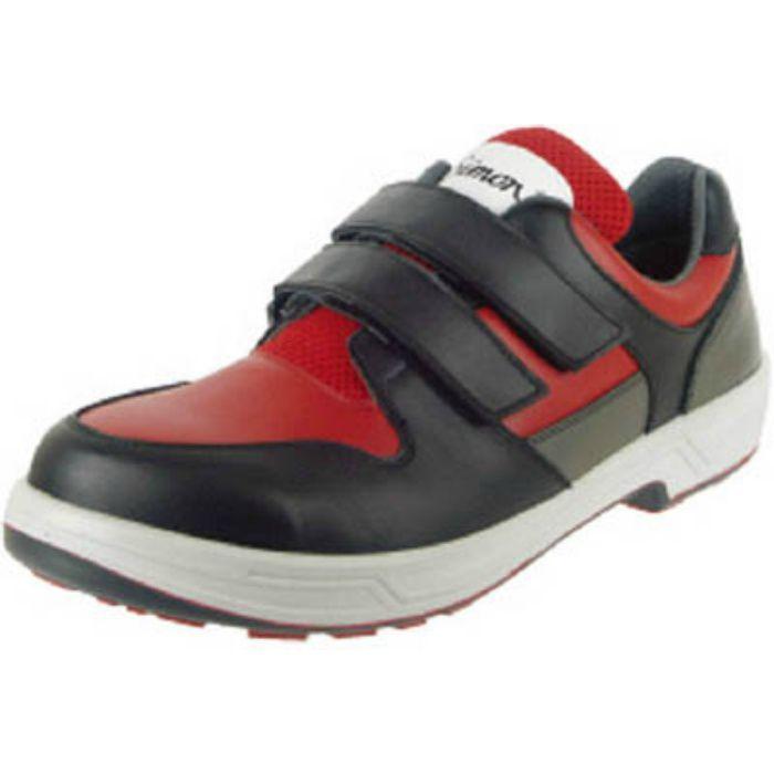 8518REDBK25.5 トリセオシリーズ 短靴 赤/黒 25.5cm