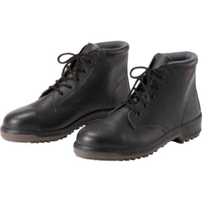 MZ020J25.0 安全中編上靴 25.0cm