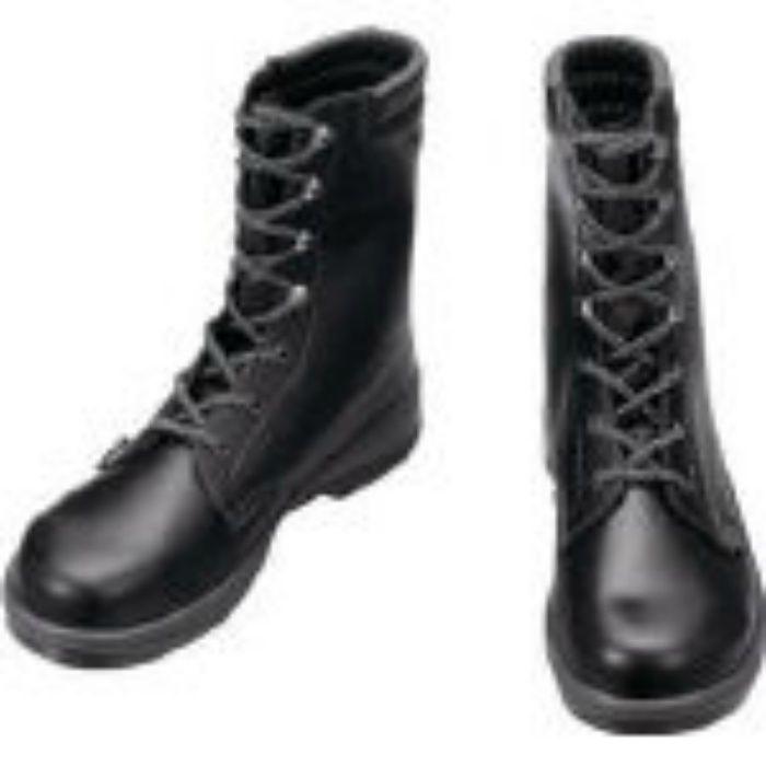 7533N25.0 安全靴 長編上靴 7533黒 25.0cm