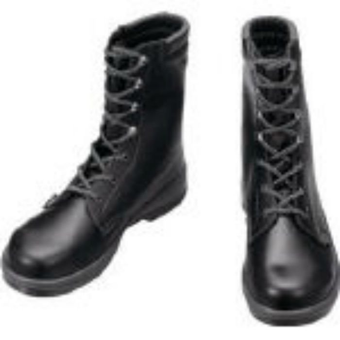 7533N27.5 安全靴 長編上靴 7533黒 27.5cm