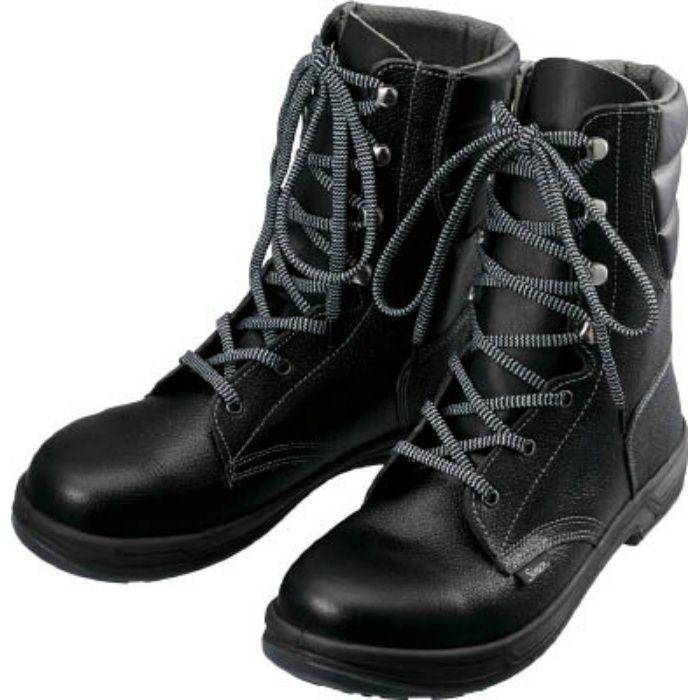 SS3324.5 安全靴 長編上靴 SS33黒 24.5cm