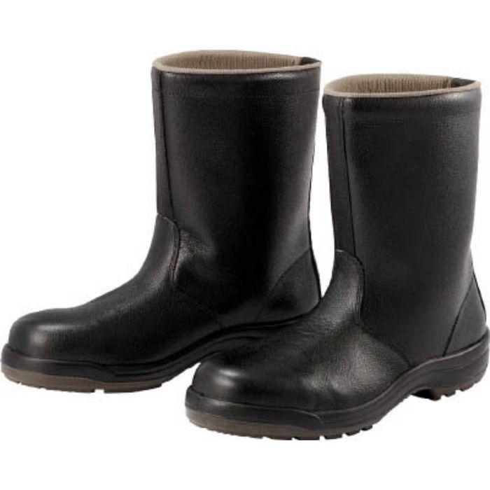 CF14025.5 ウレタン2層底 安全靴 半長靴 CF140 25.5CM