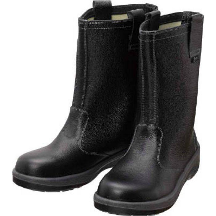 7544N26.5 安全靴 半長靴 7544黒 26.5cm