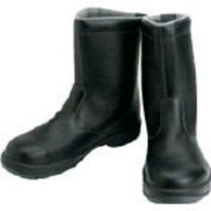 SS4423.5 安全靴 半長靴 SS44黒 23.5cm