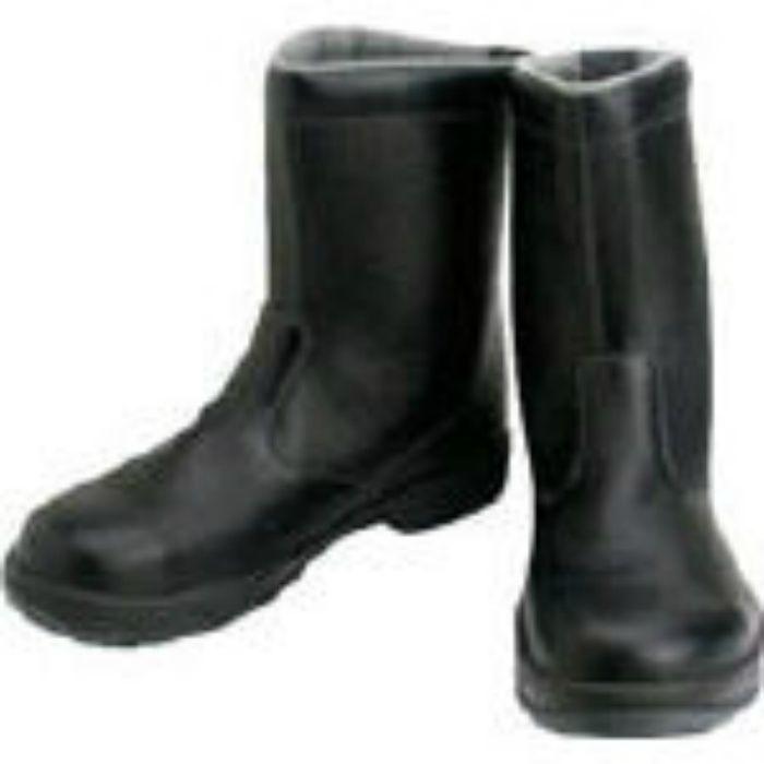 SS4425.5 安全靴 半長靴 SS44黒 25.5cm