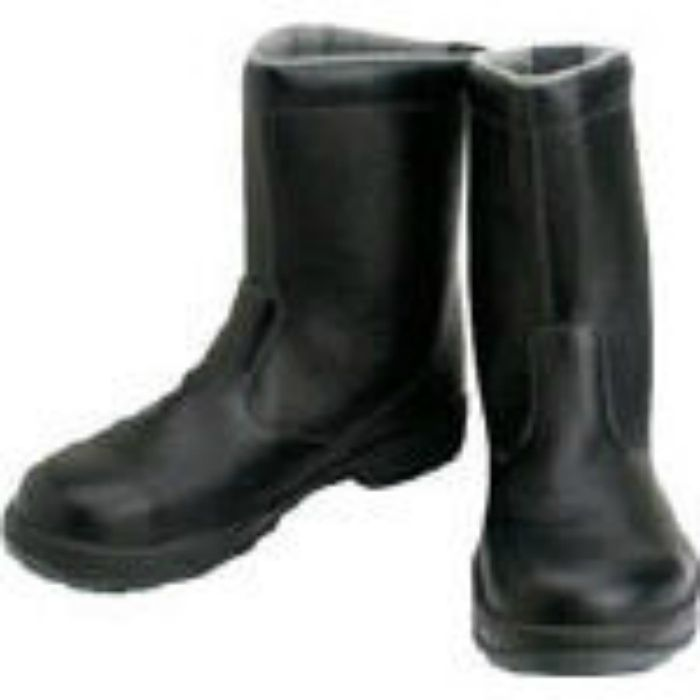 SS4427.0 安全靴 半長靴 SS44黒 27.0cm