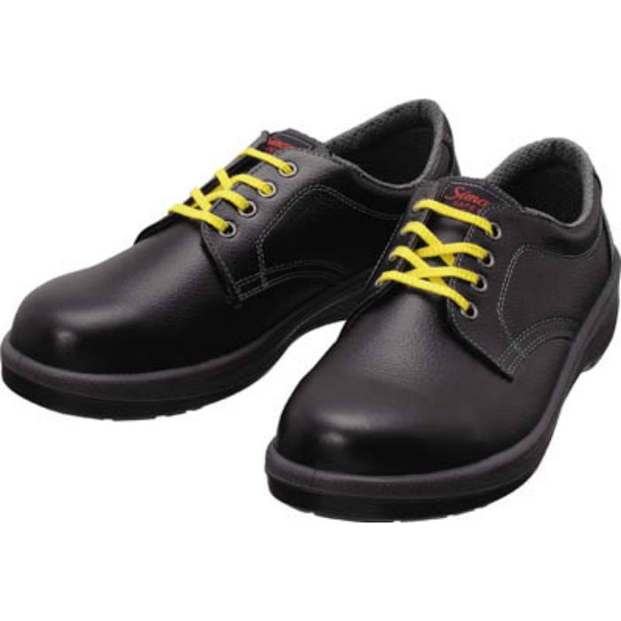 7511BKS23.5 静電安全靴 短靴 7511黒静電靴 23.5cm
