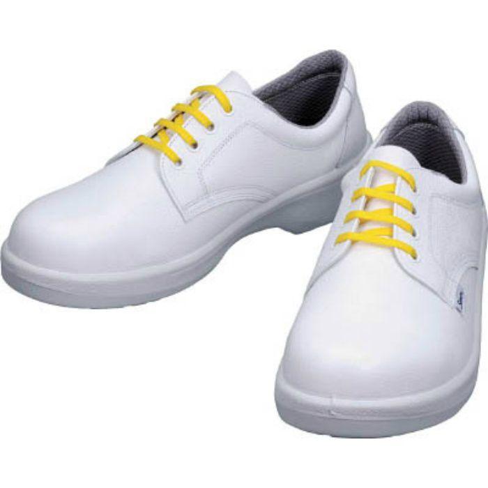 7511WS23.5 静電安全靴 短靴 7511白静電靴 23.5cm
