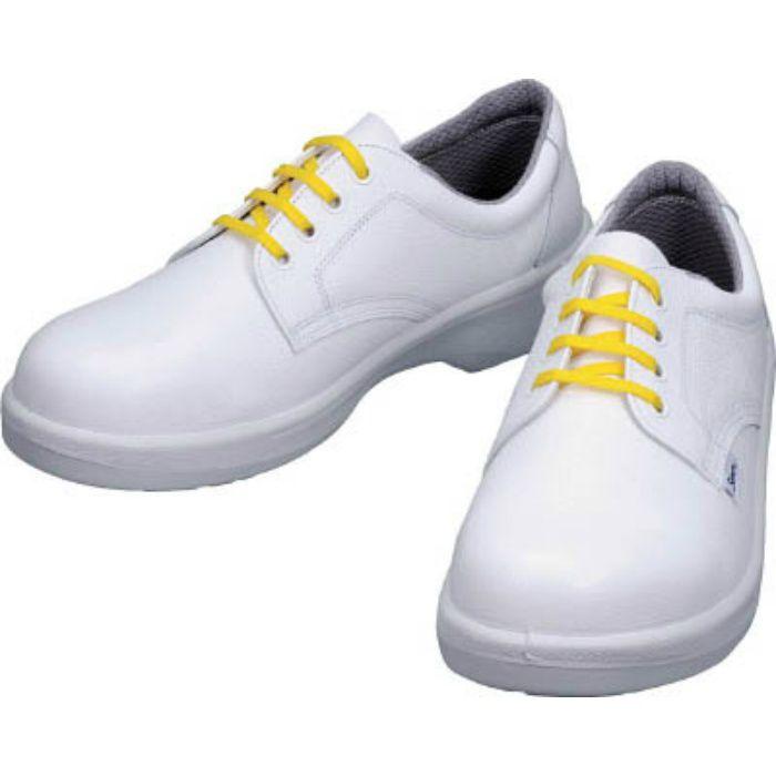 7511WS24.5 静電安全靴 短靴 7511白静電靴 24.5cm