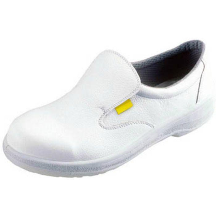 7517WS25.5 静電安全靴 短靴 7517白静電靴 25.5cm