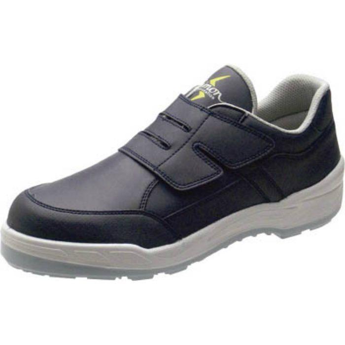 8818BUS25.0 静電プロスニーカー 短靴 8818N紺静電仕様 25.0cm