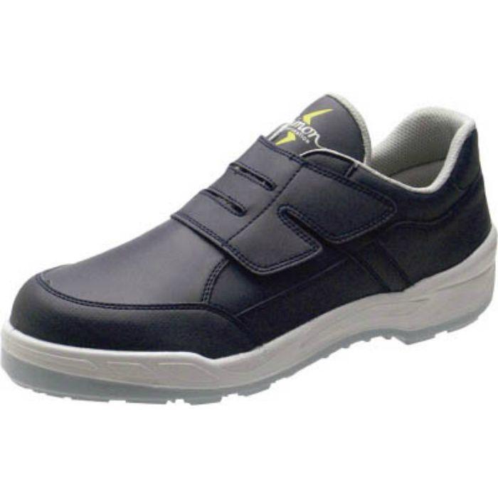 8818BUS27.5 静電プロスニーカー 短靴 8818N紺静電仕様 27.5cm