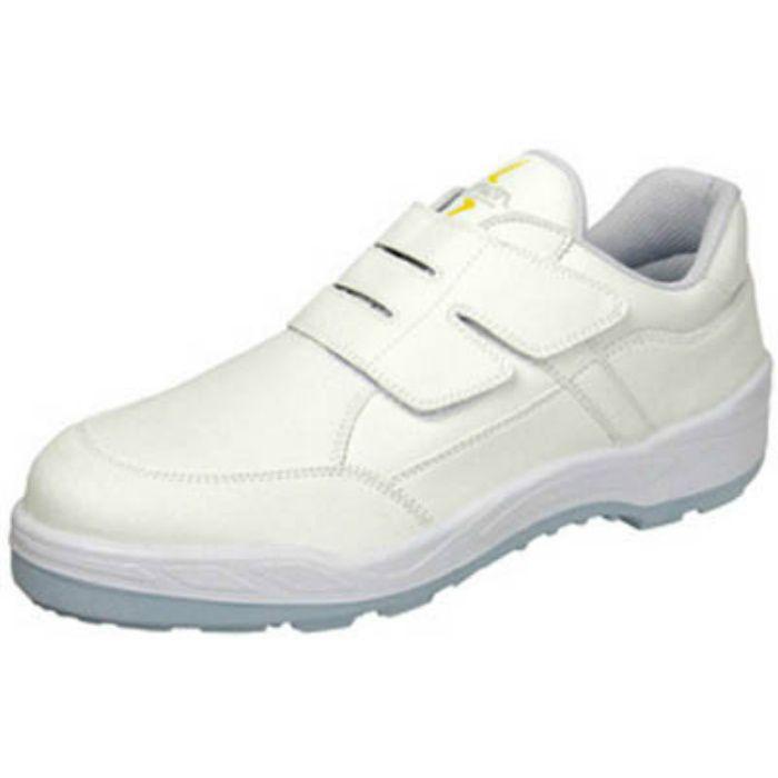 8818WS26.5 静電プロスニーカー 短靴 8818N白静電仕様 26.5cm