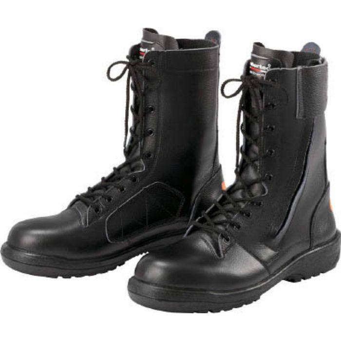 RT731FSSP425.5 踏抜き防止板入り ゴム2層底安全靴 RT731FSSP-4 25.5