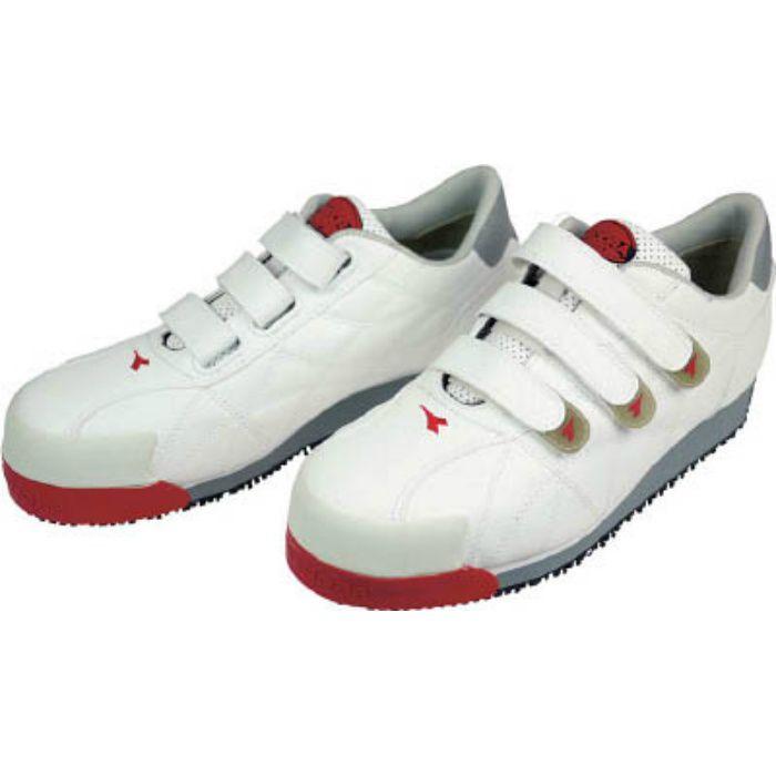 IB11240 DIADORA 安全作業靴 アイビス 白 24.0cm