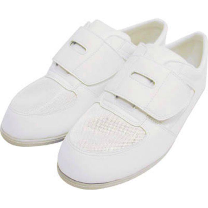 CA6122.0 静電作業靴 メッシュ靴 CA-61 22.0cm
