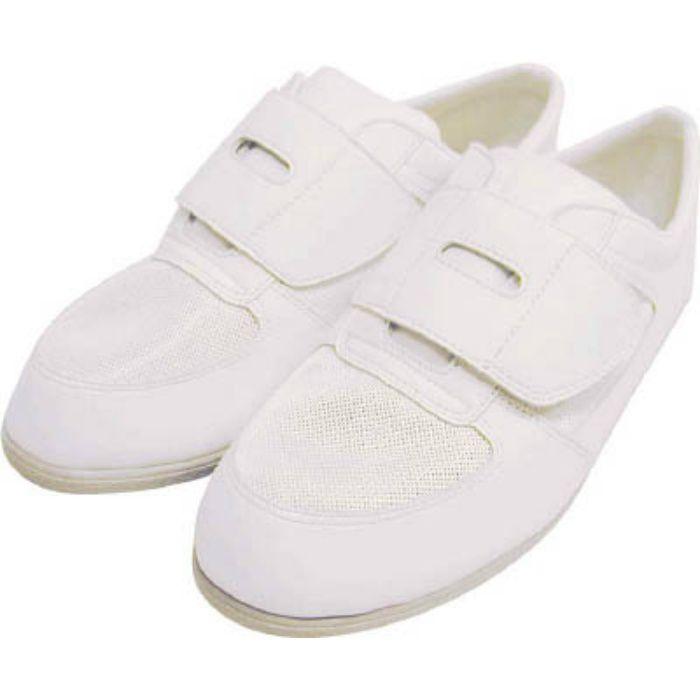 CA6122.5 静電作業靴 メッシュ靴 CA-61 22.5cm