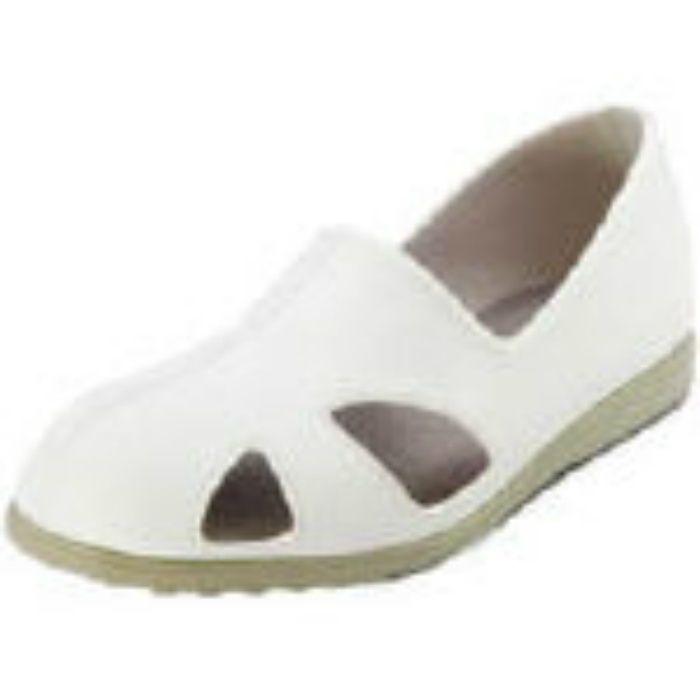 CA6024.0 静電作業靴 サンダルタイプ CA-60 24.0cm