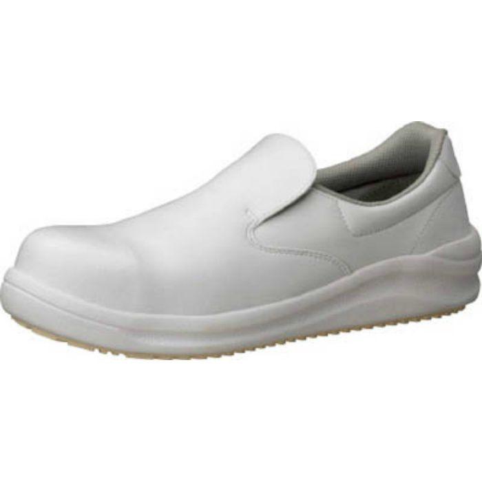 NHS600W22.0 ワイド樹脂先芯入り超耐滑軽量作業靴 ハイグリップ 22.0CM