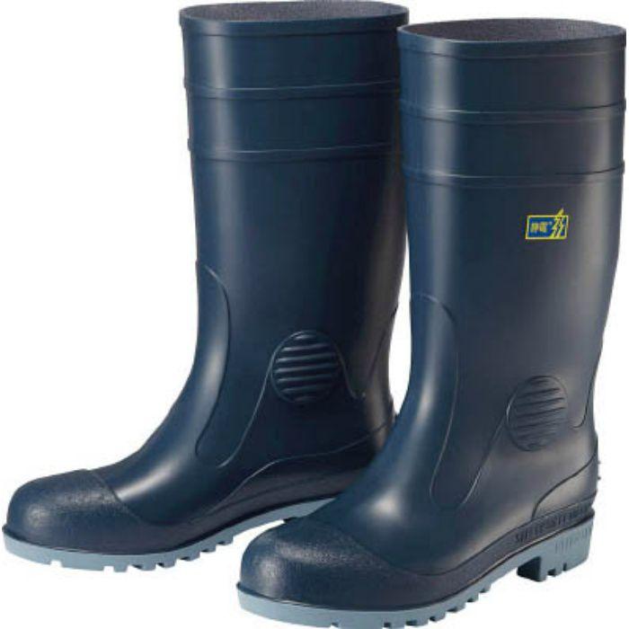 W1000SBL23.5 耐油・耐薬品性・静電安全長靴 W1000静電