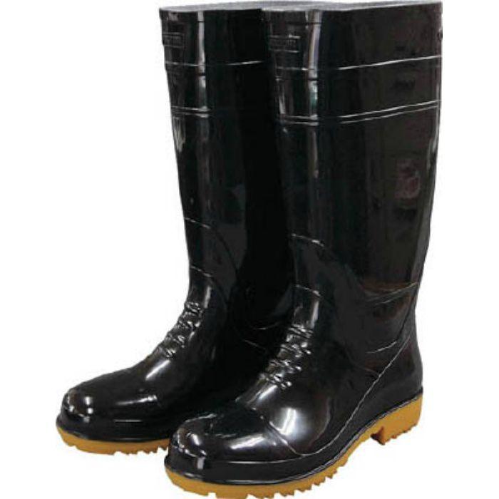 GLA1LLB 耐油長靴先芯入り ガロア#1ブラックLL