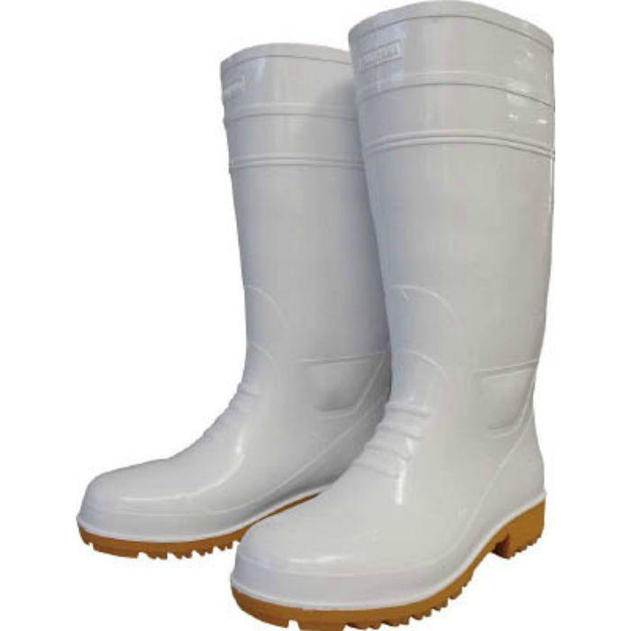 GLA1LLH 耐油長靴先芯入り ガロア#1ホワイトLL