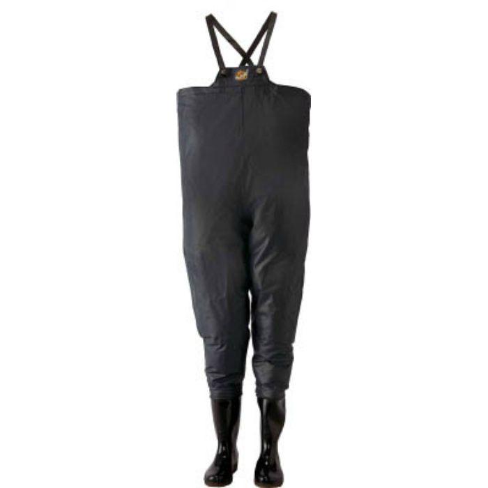 10068250 クレモナ水産 胴付き長靴 鉄紺 25.0cm