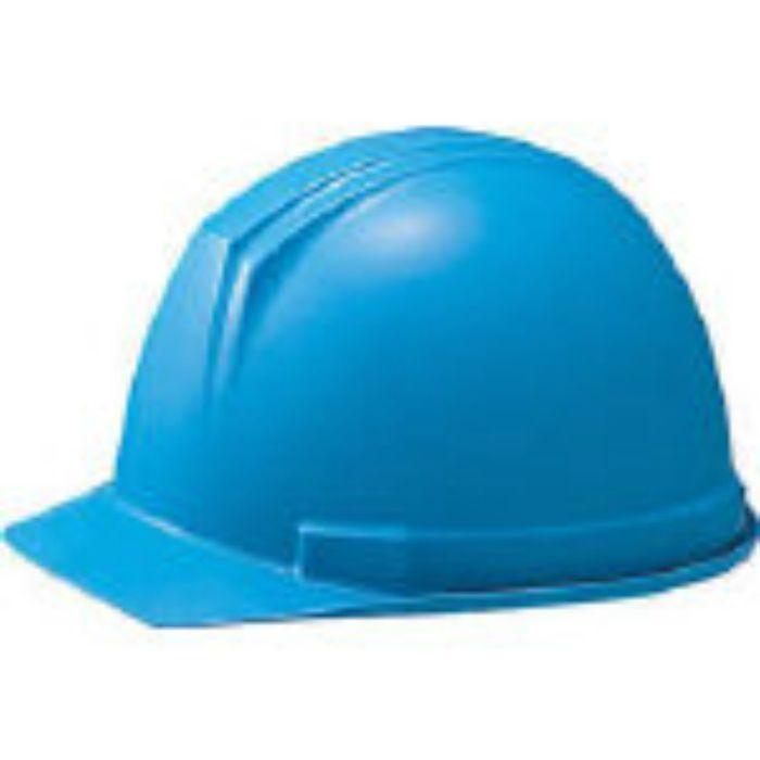 0169FZB1J ABS製ヘルメット(前ひさし・溝付型)EPA付 青