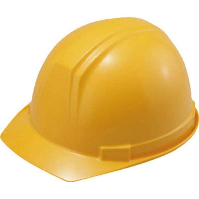 0169FZY2J ABS製ヘルメット(前ひさし・溝付型)EPA付 黄
