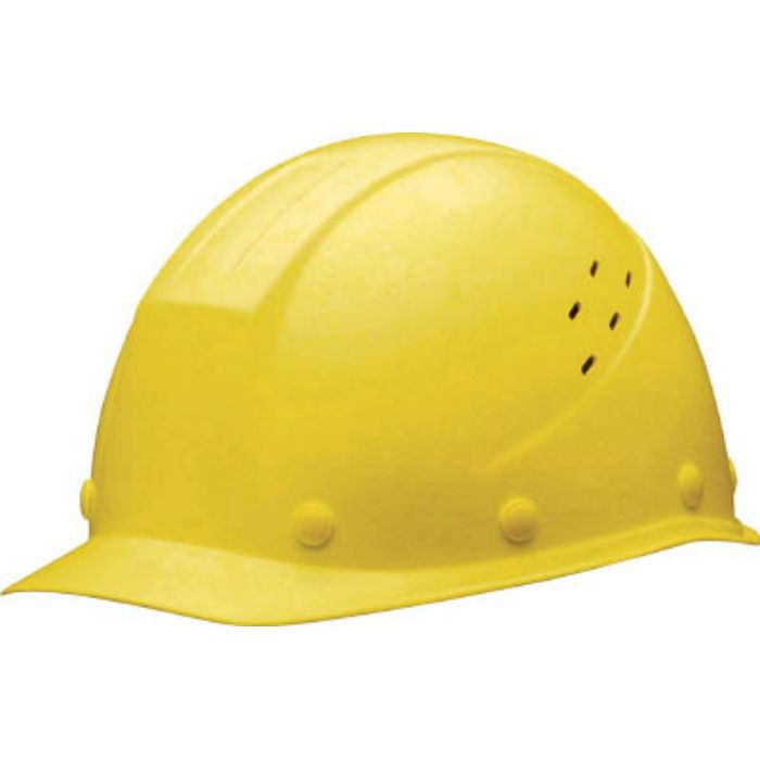SC11FVRAKPY FRP製 通気孔付ヘルメット イエロー