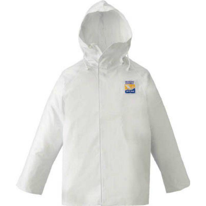 12030611 マリンエクセル パーカー ホワイト LL