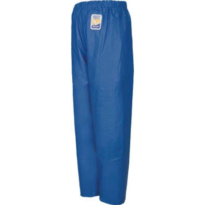 12050150 マリンエクセル 並ズボン膝当て付き ブルー 3L