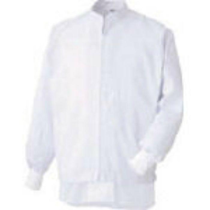MHS3213WUEL 異物混入防止長袖ブルゾン ホワイト L