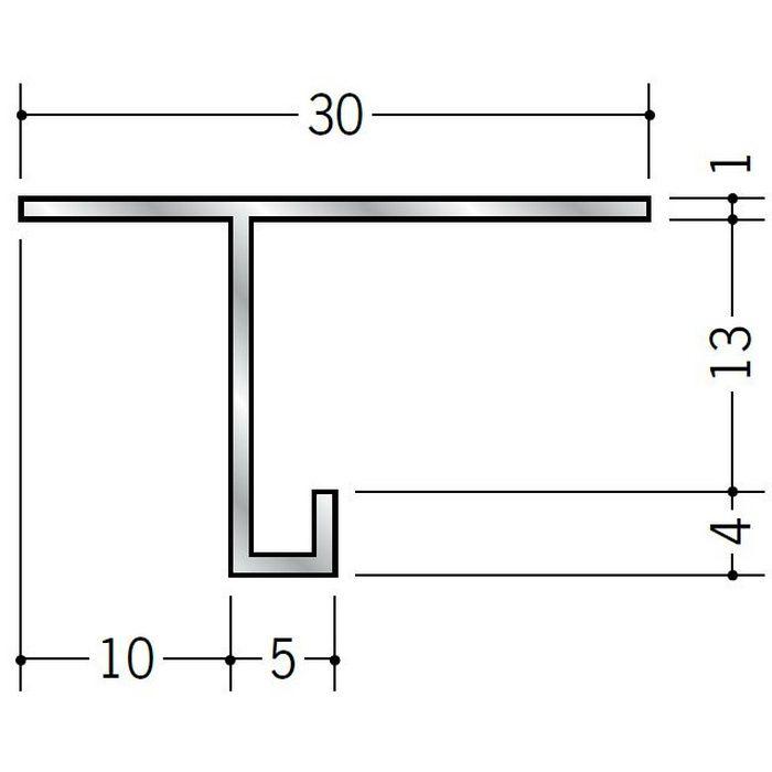 目透かし型見切縁 アルミ AM-12 シルバー 3m  51060