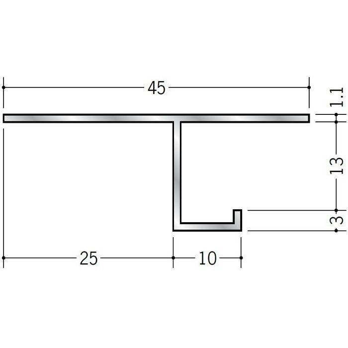 換気見切 アルミ VFC-13(開口率15.07%) シルバー 3m  51065