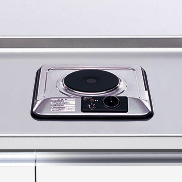 電熱ヒーター 1口型 シルバー SPH-131S  【地域限定】