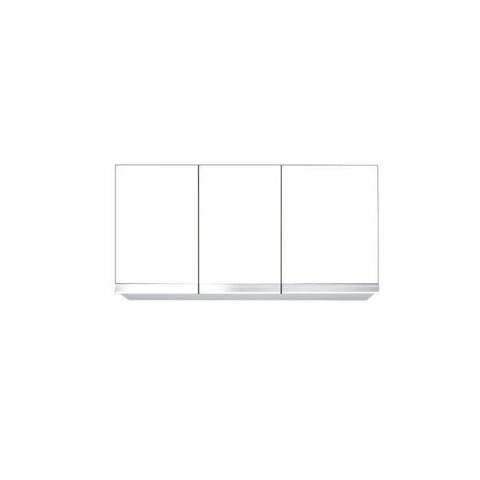 吊戸棚 (高さ45cmタイプ) 間口95cm ホワイト M7-95N_W  【地域限定】
