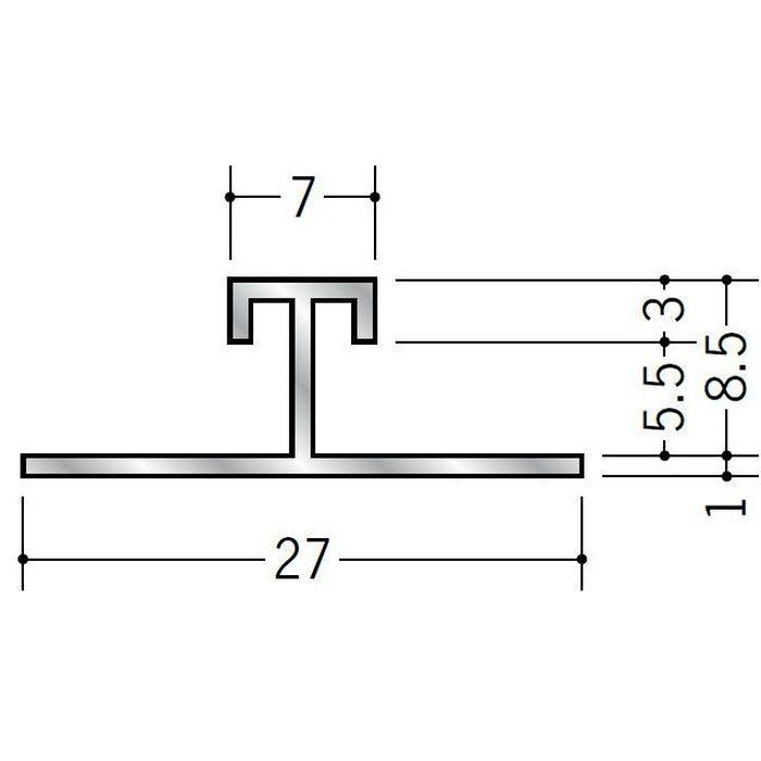 H型ジョイナー アルミ WBA-708 シルバー 3m  58233