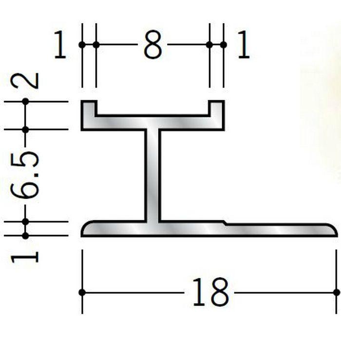 H型ジョイナー アルミ mHS-6.5 シルバー 2.73m  55305