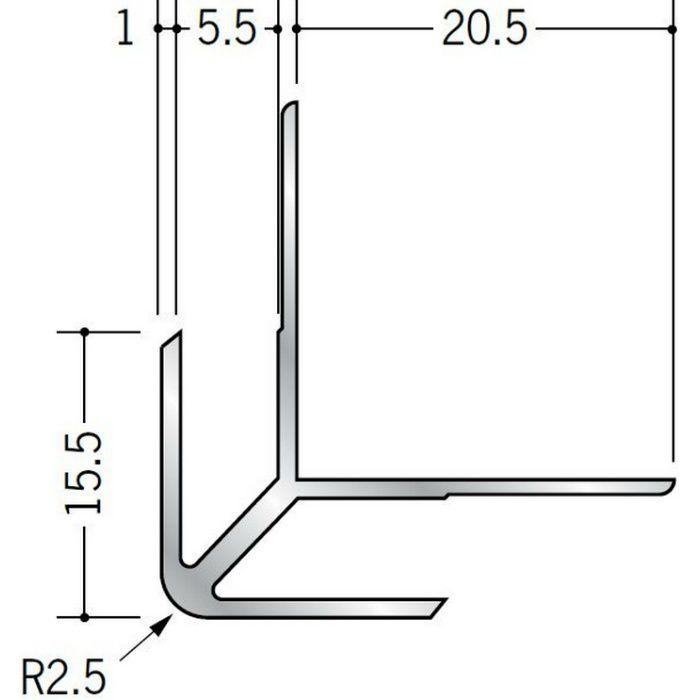 出隅ジョイナー アルミ DA-5.5 シルバー 2.73m  55015
