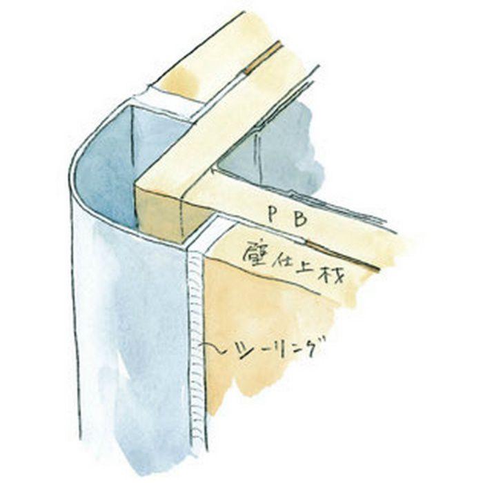 出隅ジョイナー アルミ タコ20-9 シルバー 2.73m  50017