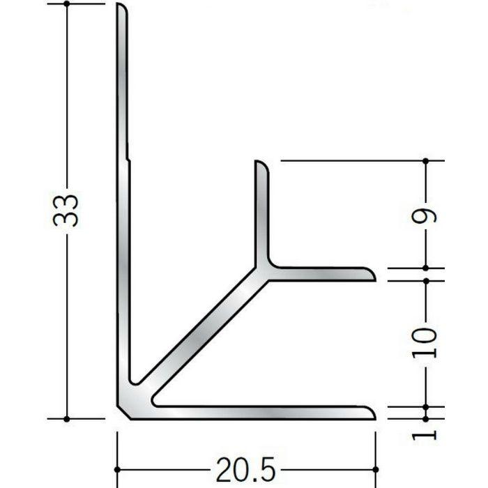 入隅ジョイナー アルミ BF-9.5 シルバー 2.73m  55039-1
